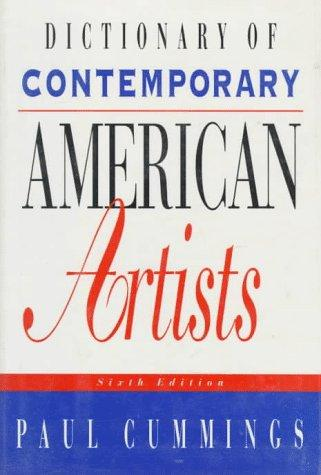 Download Dictionary of contemporary American artists