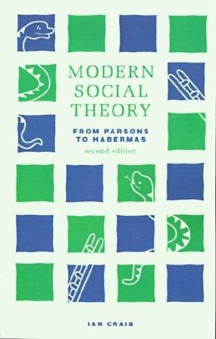 Download Modern social theory