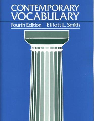 Download Contemporary vocabulary