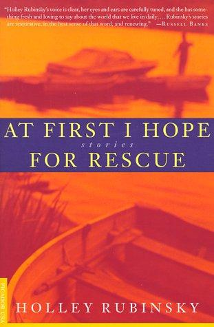 At first I hope for rescue