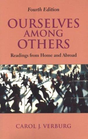 Ourselves among others by Carol J. Verburg
