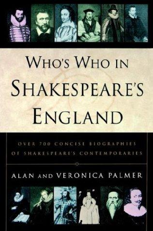 Download Who's who in Shakespeare's England