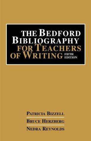 Download The Bedford bibliography for teachers of writing
