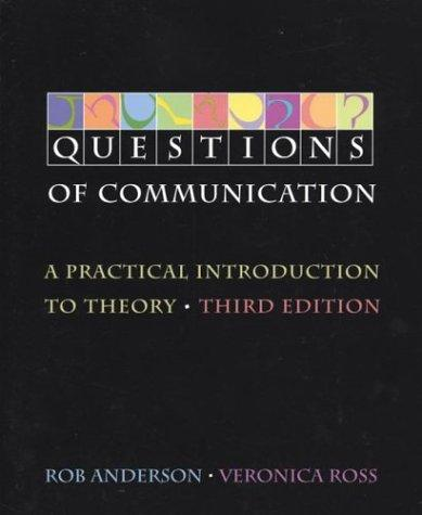 Questions of communication