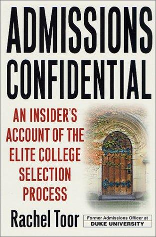 Download Admissions Confidential