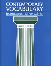 Thumbnail of Contemporary Vocabulary