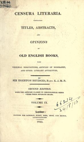 Download Censura literaria.
