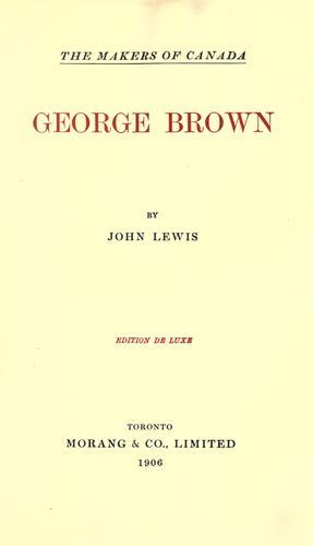 Download George Brown