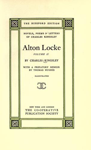 Download Alton Locke.