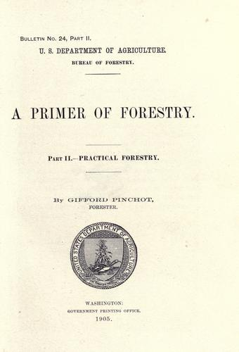 Download A primer of forestry