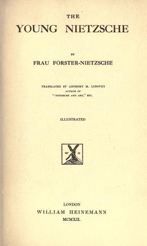 Download The young Nietzsche