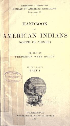 Download … Handbook of American Indians north of Mexico