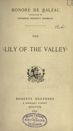 Download The lily of the valley.