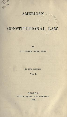 Download American constitutional law.