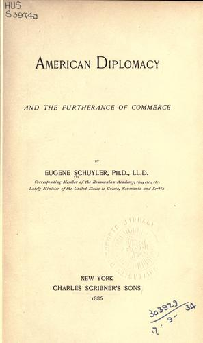 Download American diplomacy and the furtherance of commerce.