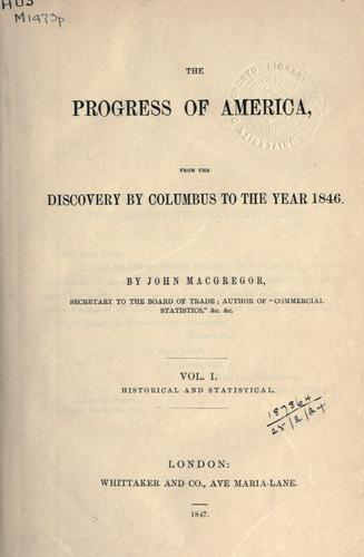 Download The progress of America