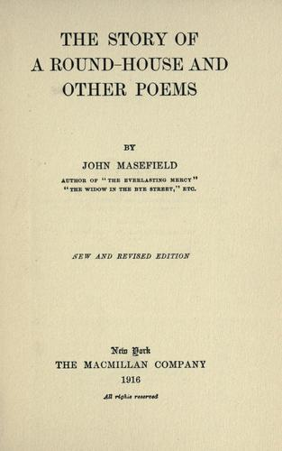 The story of a round-house, and other poems.