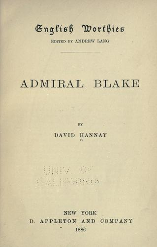 Download Admiral Blake.