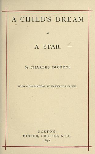 Download A child's dream of a star