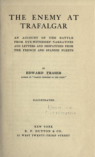 Download The enemy at Trafalgar