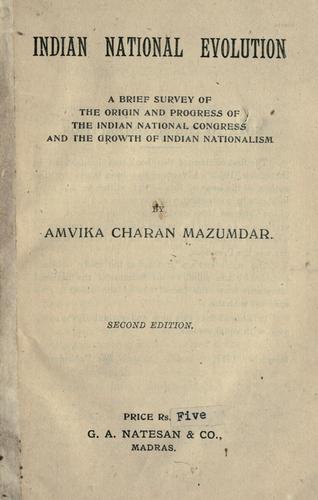 Indian national evolution