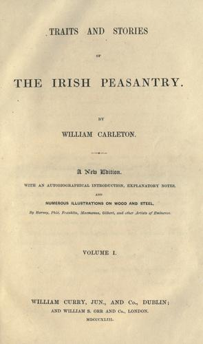 Download Traits and stories of the Irish peasantry