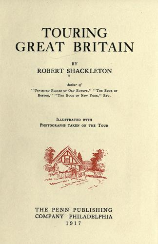 Download Touring Great Britain