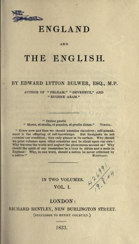 Download England and the English.