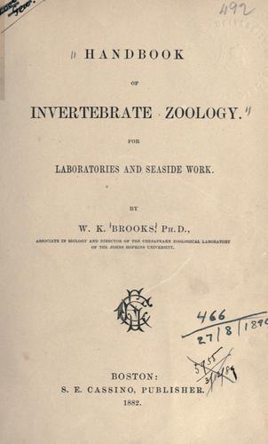 Download Handbook of invertebrate zoology.