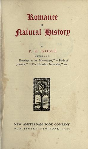 Download Romance of natural history