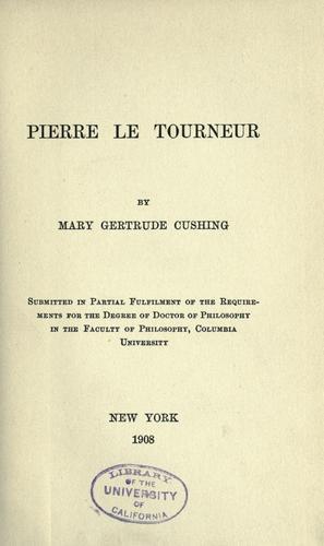 Download Pierre Le Tourneur