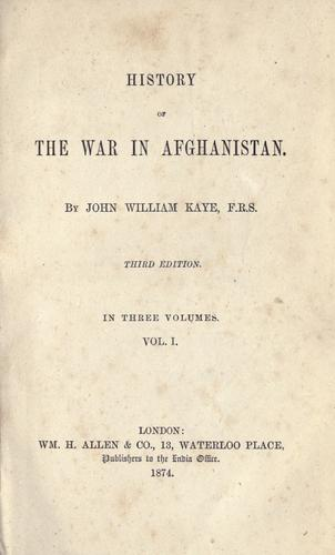 History of the war in Afghanistan.