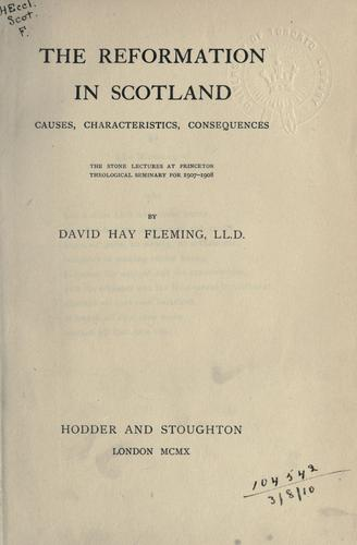 Download The Reformation in Scotland