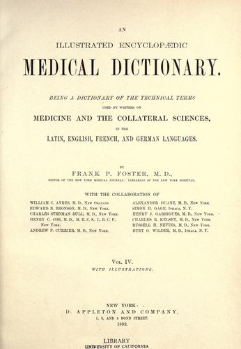 An illustrated encyclopædic medical dictionary