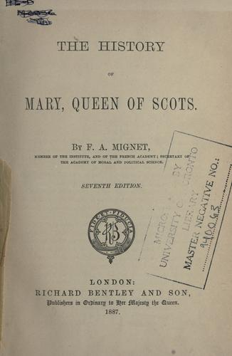 Download The history of Mary, Queen of Scots.