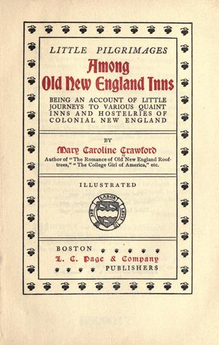 Download Among old New England inns.