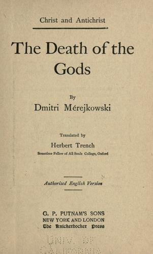 Download The death of the gods