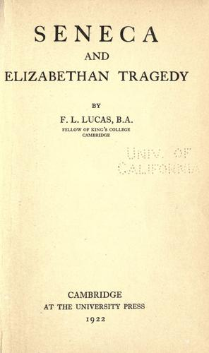 Download Seneca and Elizabethan tragedy