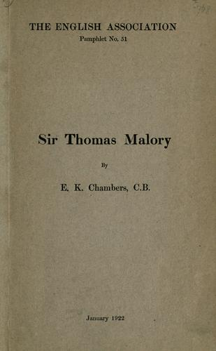 Download Sir Thomas Malory