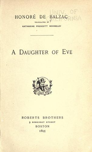 Download A daughter of Eve.