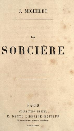 Download La sorcière