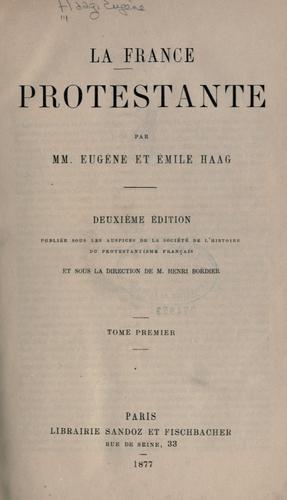 Download La France protestante