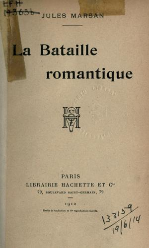 Download La bataille romantique.