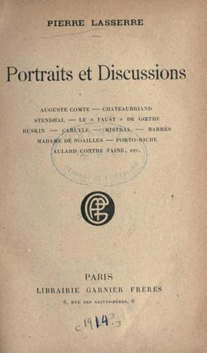 Portraits et discussions