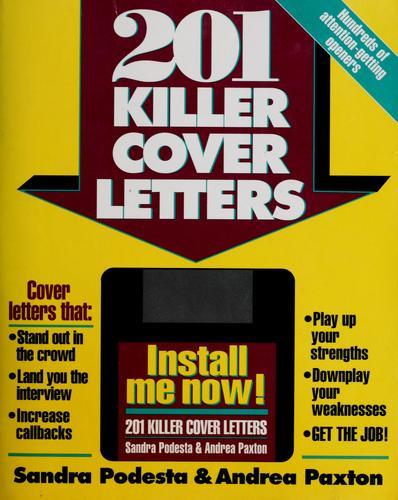 Download 201 killer cover letters