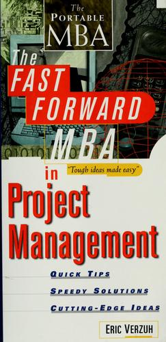 Download The fast forward MBA in project management