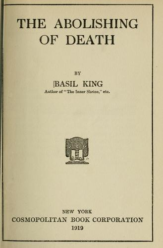 Download The abolishing of death