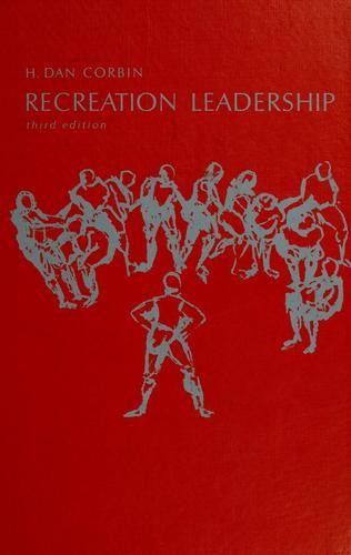 Download Recreation leadership