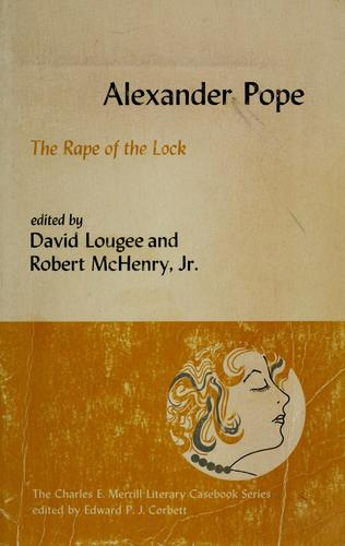 The rape of the lock.