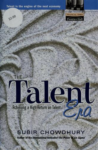 The talent era